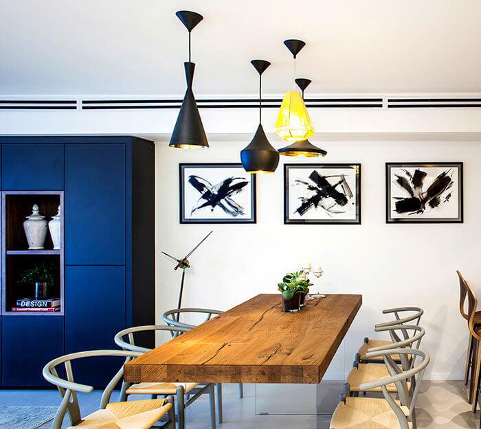 5apartment king david roy david 2 - Mẫu nội thất căn hộ theo tông màu tối