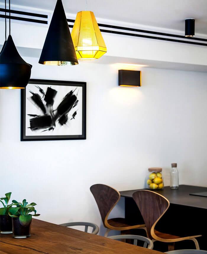 8apartment king david roy david 17 - Mẫu nội thất căn hộ theo tông màu tối