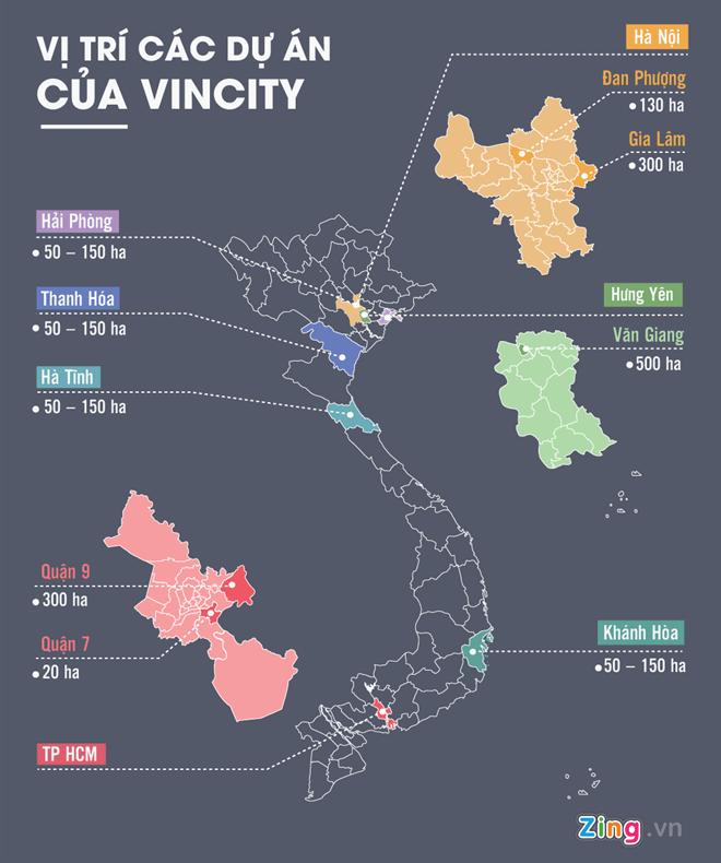 ban do vi tri cac du an vincity - Giá các căn hộ VinCity Quận 9 là bao nhiêu ?