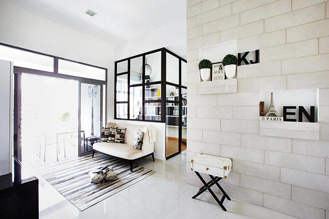 can ho kieu phap 1 - Mẫu căn hộ có thiết kế mang phong cách thanh lịch Pháp
