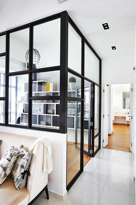 can ho kieu phap 2 - Mẫu căn hộ có thiết kế mang phong cách thanh lịch Pháp