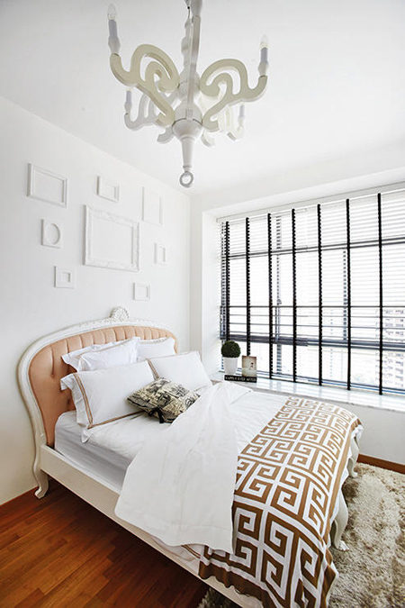 can ho kieu phap 6 - Mẫu căn hộ có thiết kế mang phong cách thanh lịch Pháp