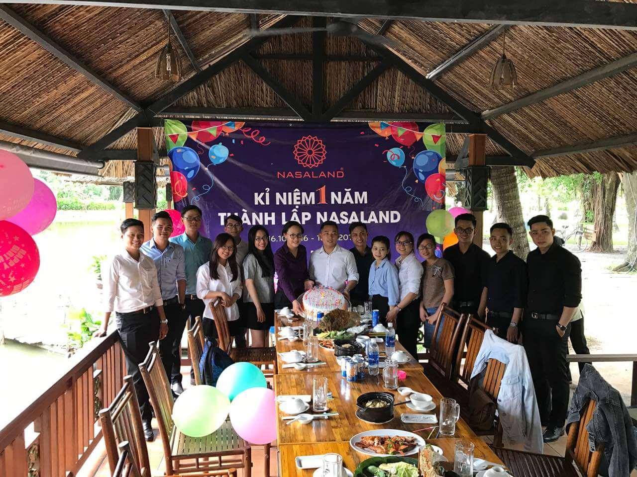 sinh nhật nasaland