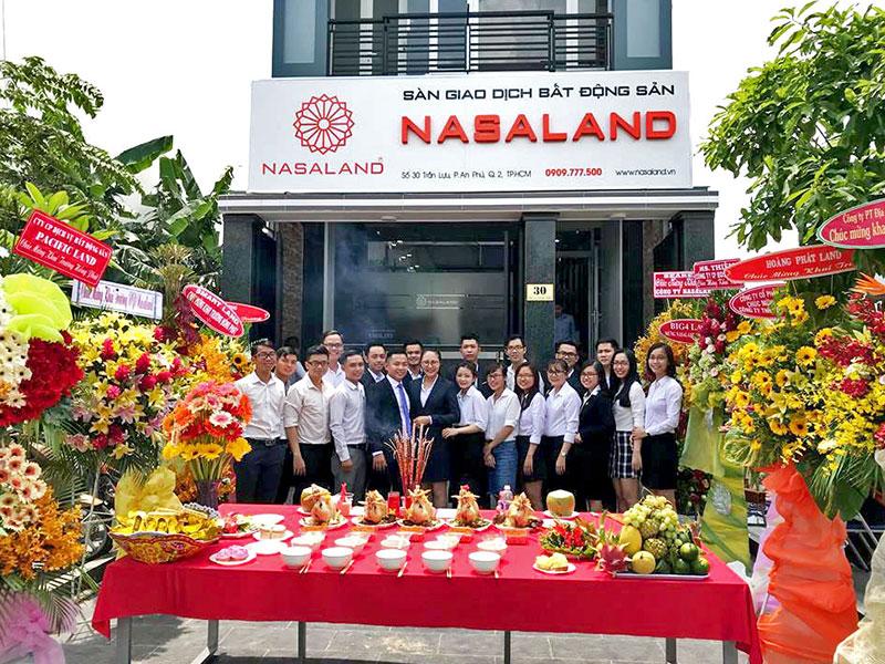 khai trương công ty nasaland