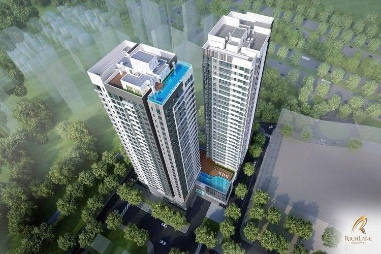 Phối cảnh dự án căn hộ RichLane Residences