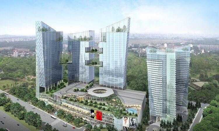 Phối cảnh khu phức hợp Saigon South Place Complex