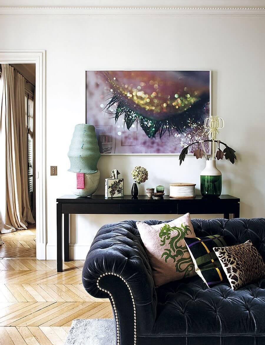 can ho phong cach Parisian 3 - Căn hộ hiện đại mang phong cách Parisian thanh lịch