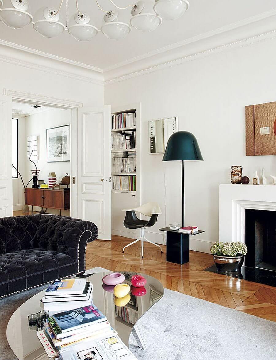 can ho phong cach Parisian 4 - Căn hộ hiện đại mang phong cách Parisian thanh lịch