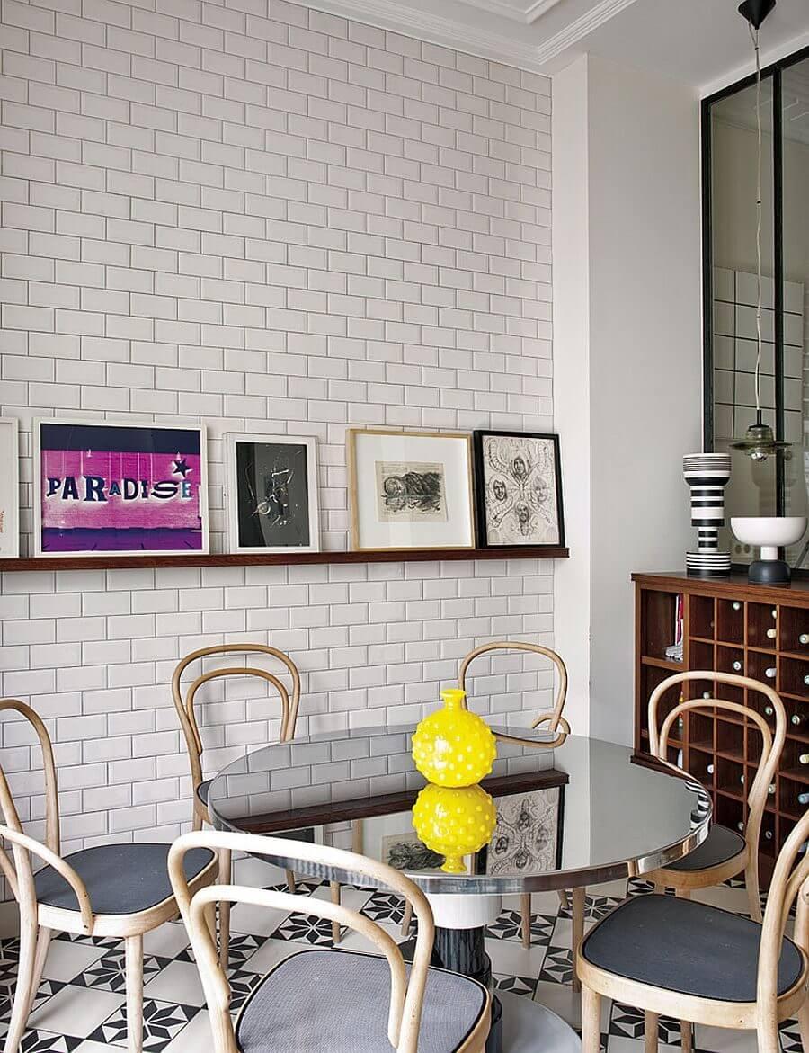 can ho phong cach Parisian 6 - Căn hộ hiện đại mang phong cách Parisian thanh lịch