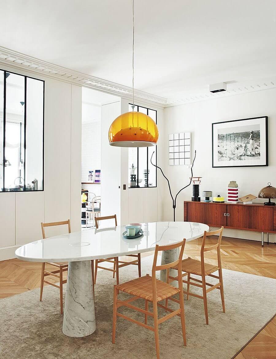 can ho phong cach Parisian 7 - Căn hộ hiện đại mang phong cách Parisian thanh lịch