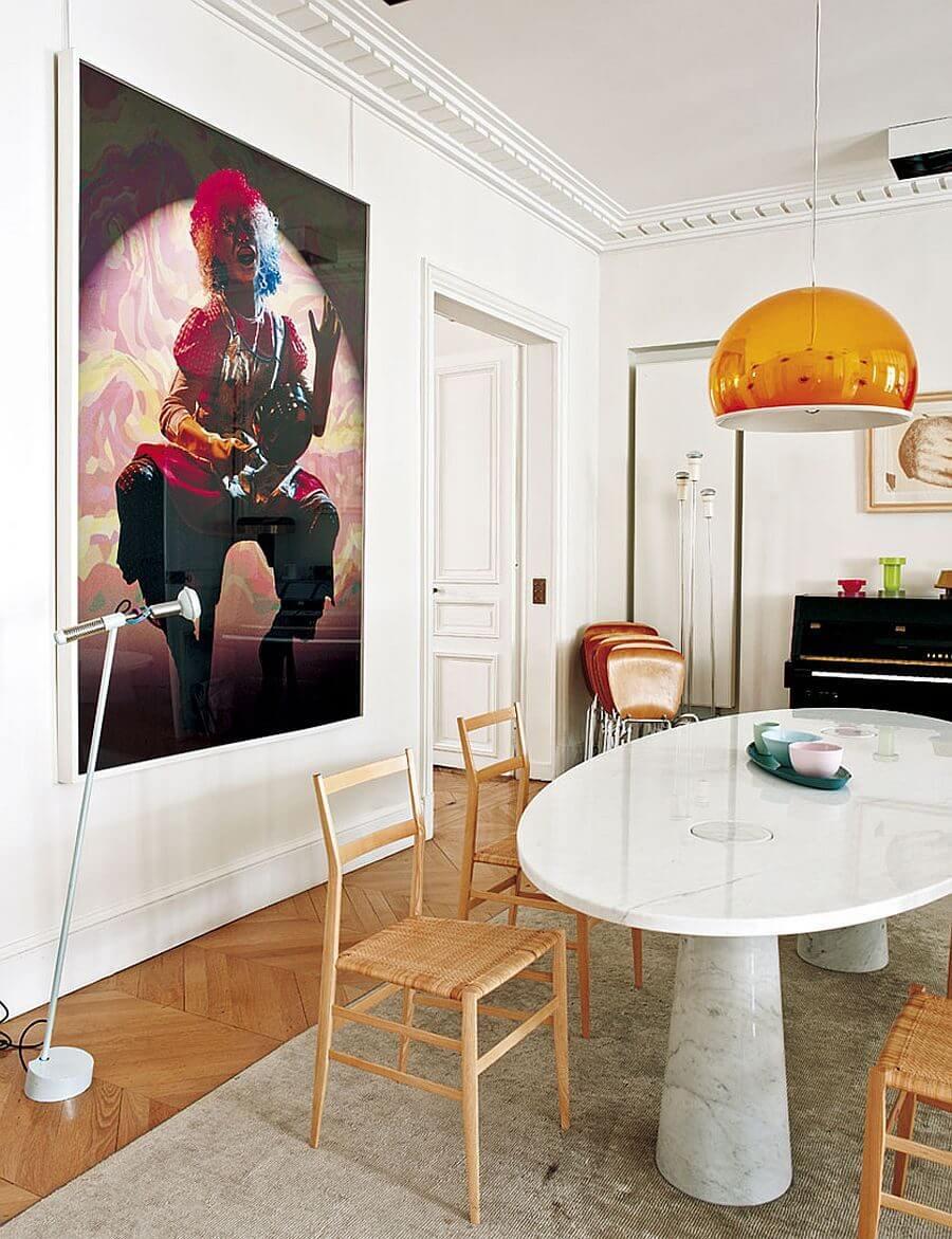 can ho phong cach Parisian 8 - Căn hộ hiện đại mang phong cách Parisian thanh lịch