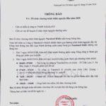 thong bao thien nguyen 150x150 - Thông báo chương trình thiện nguyện 2018