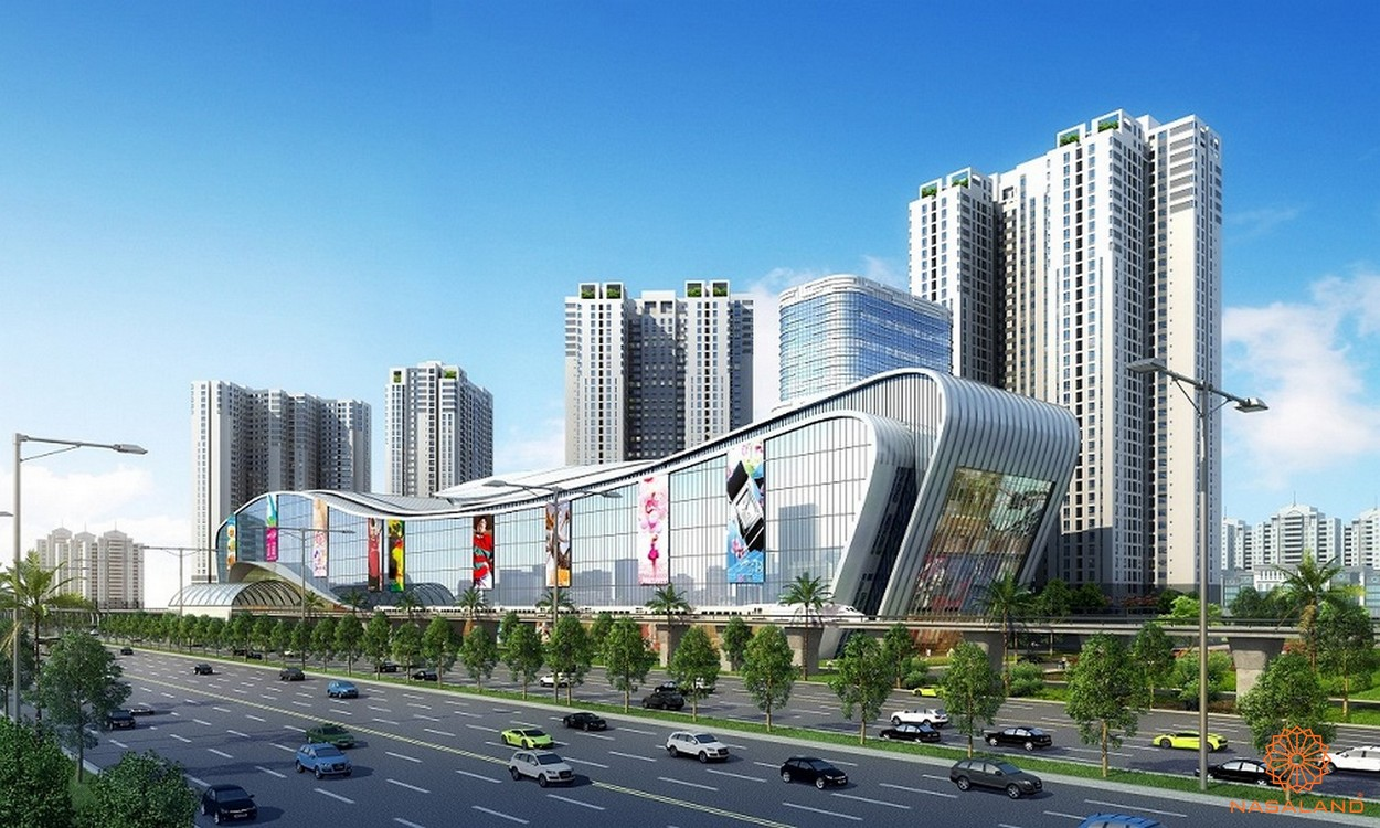 Phối cảnh dự án căn hộ chung cư Masteri Thảo Điền quận 2