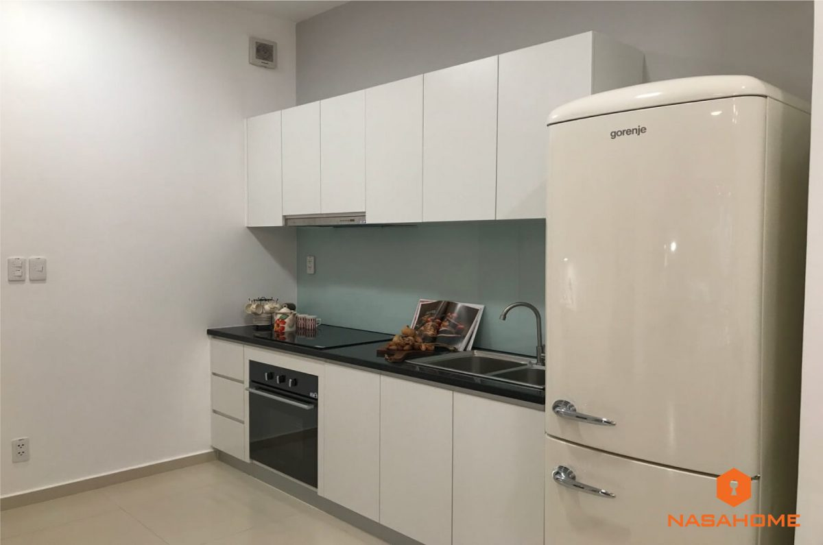 thiết kế bếp căn hộ Hauneo