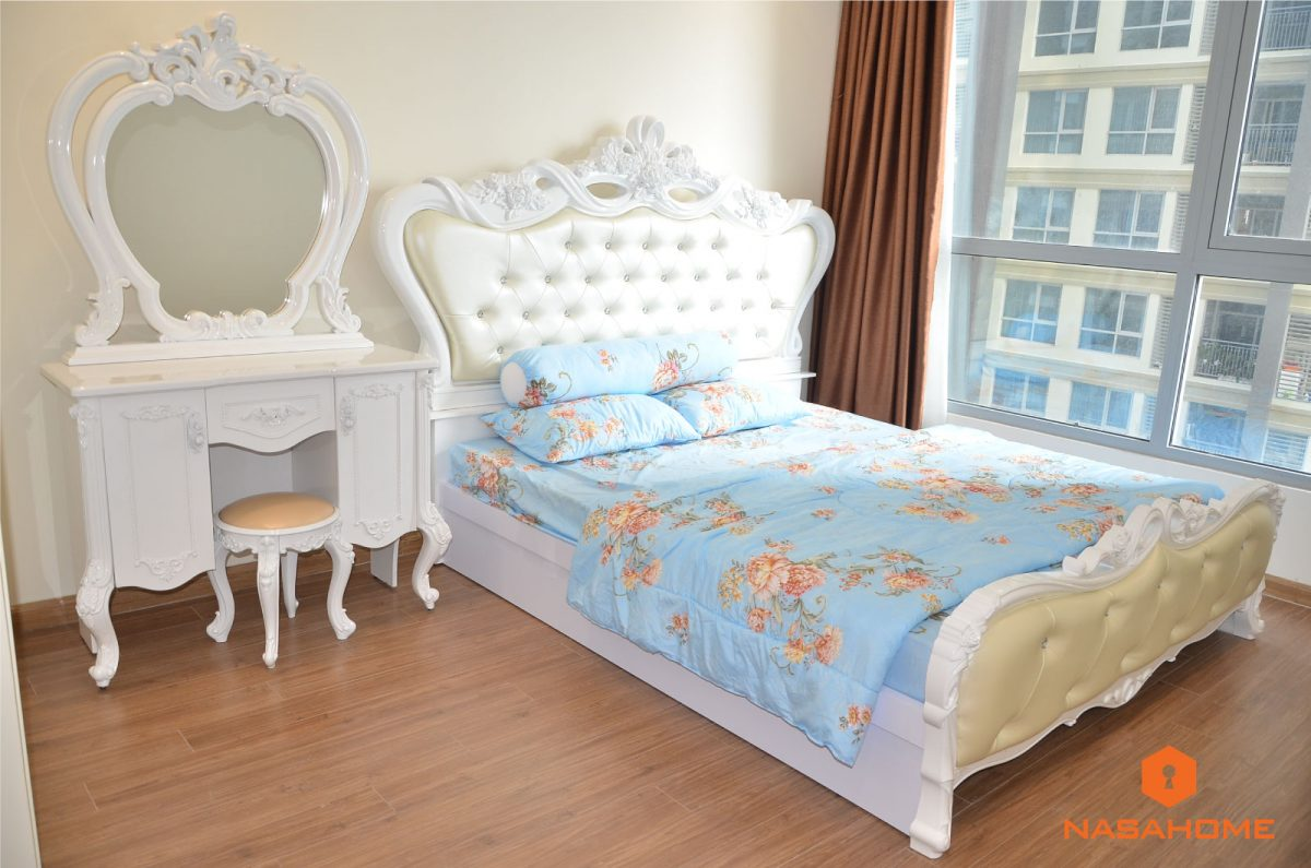 căn hộ hai phòng ngủ tại Vinhomes
