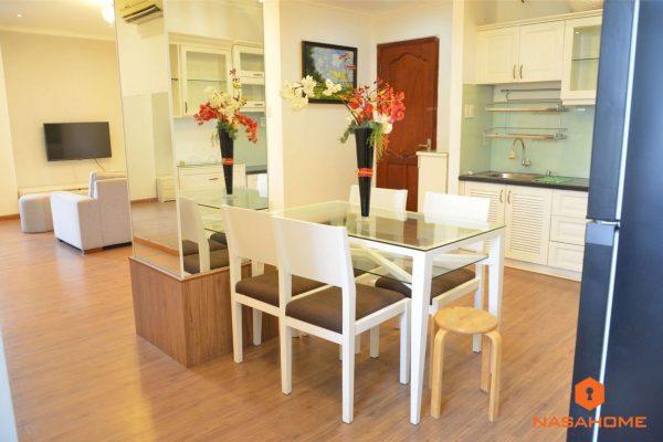 Cho thuê căn hộ 2PN view song hành cao ốc An Phú – KDT AP-AK