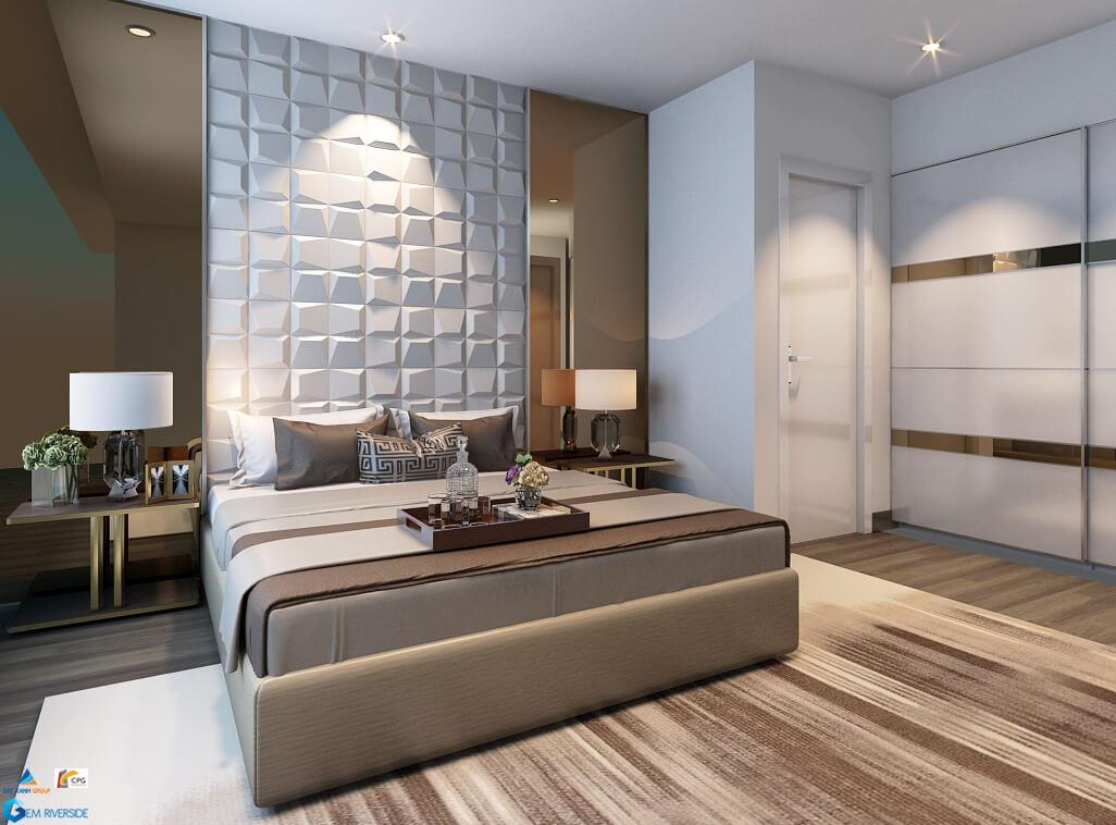 thiết kế phòng ngủ gem riverside