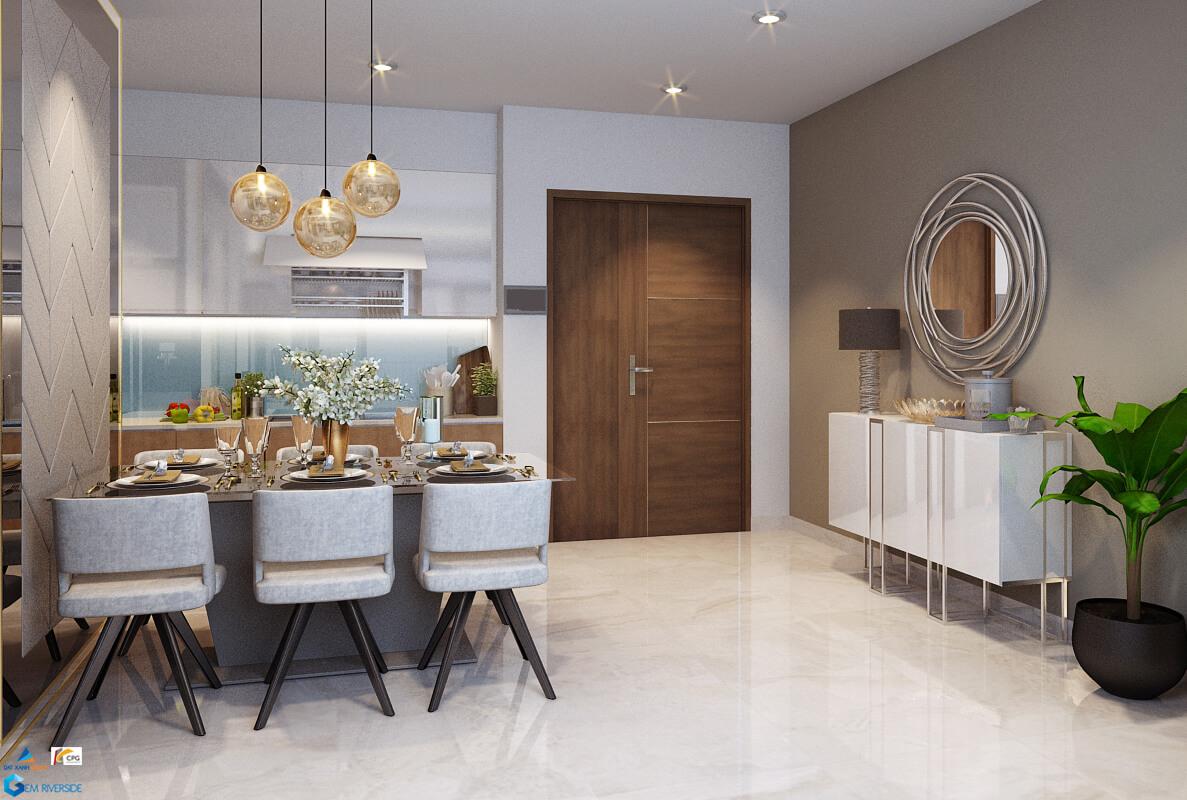 thiết kế căn hộ gem riverside