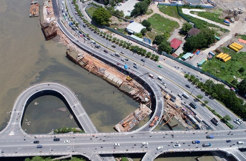 giao thông dự án căn hộ hado green lane