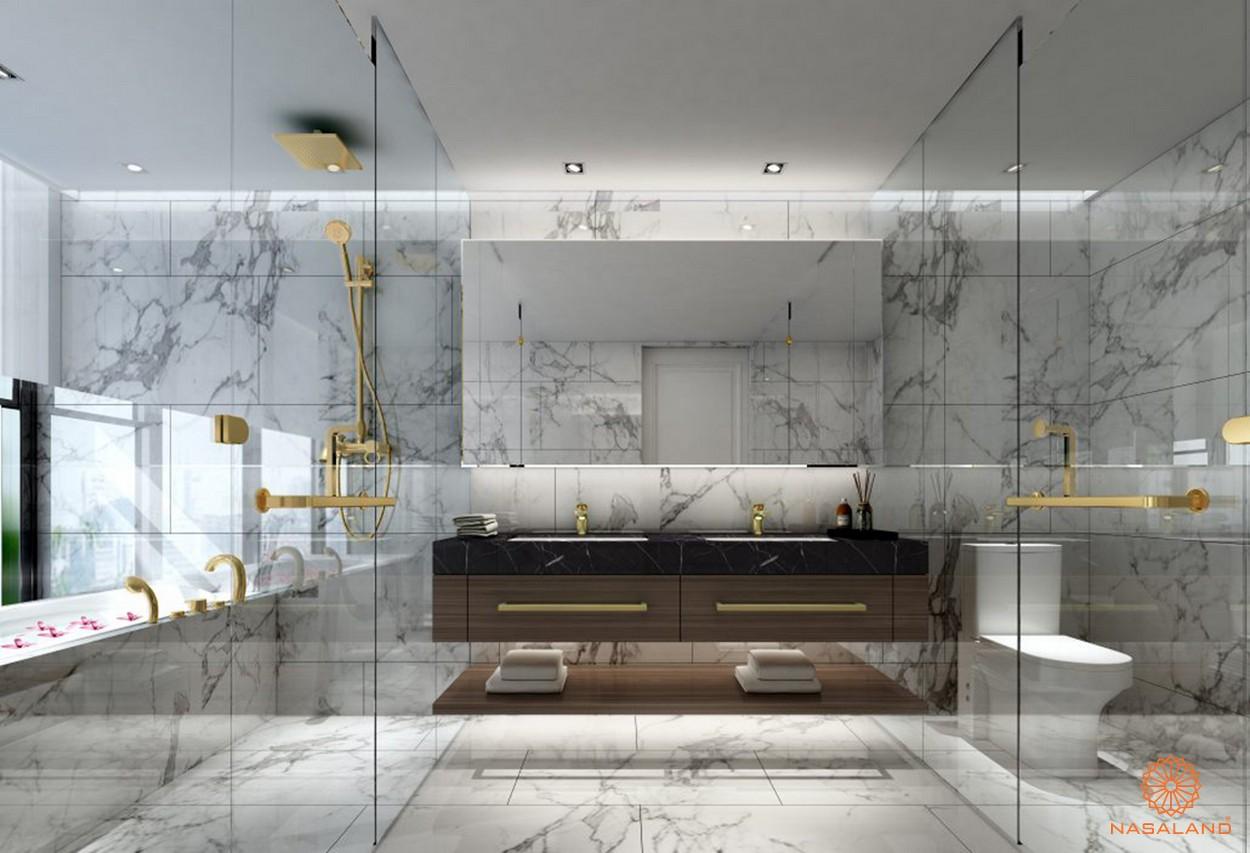 Thiết kế chung cư The Metropole Thủ Thiêm - phòng tắm