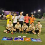 Liên Minh Nasaland – UniHomes – KW – BDS Express xuất sắc đoạt huy chương đồng trong Siêu cúp bóng đá Vinhomes