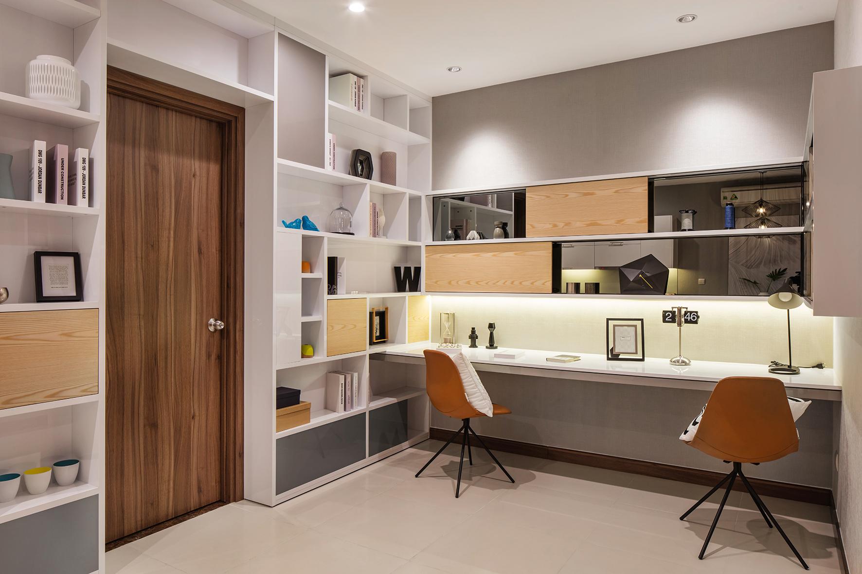 Nhà mẫu phòng làm việc thuộc dự án căn hộ Hà Đô Centrosa Garden