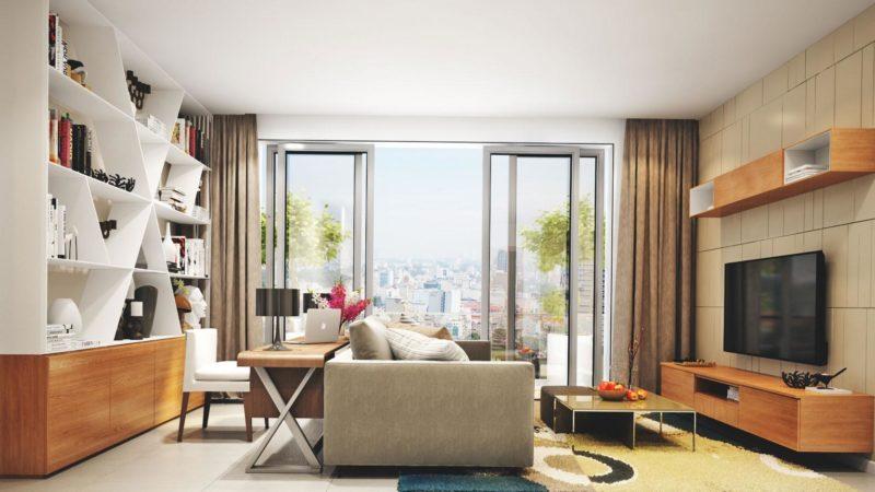 thiết kế căn hộ de capella quận 2