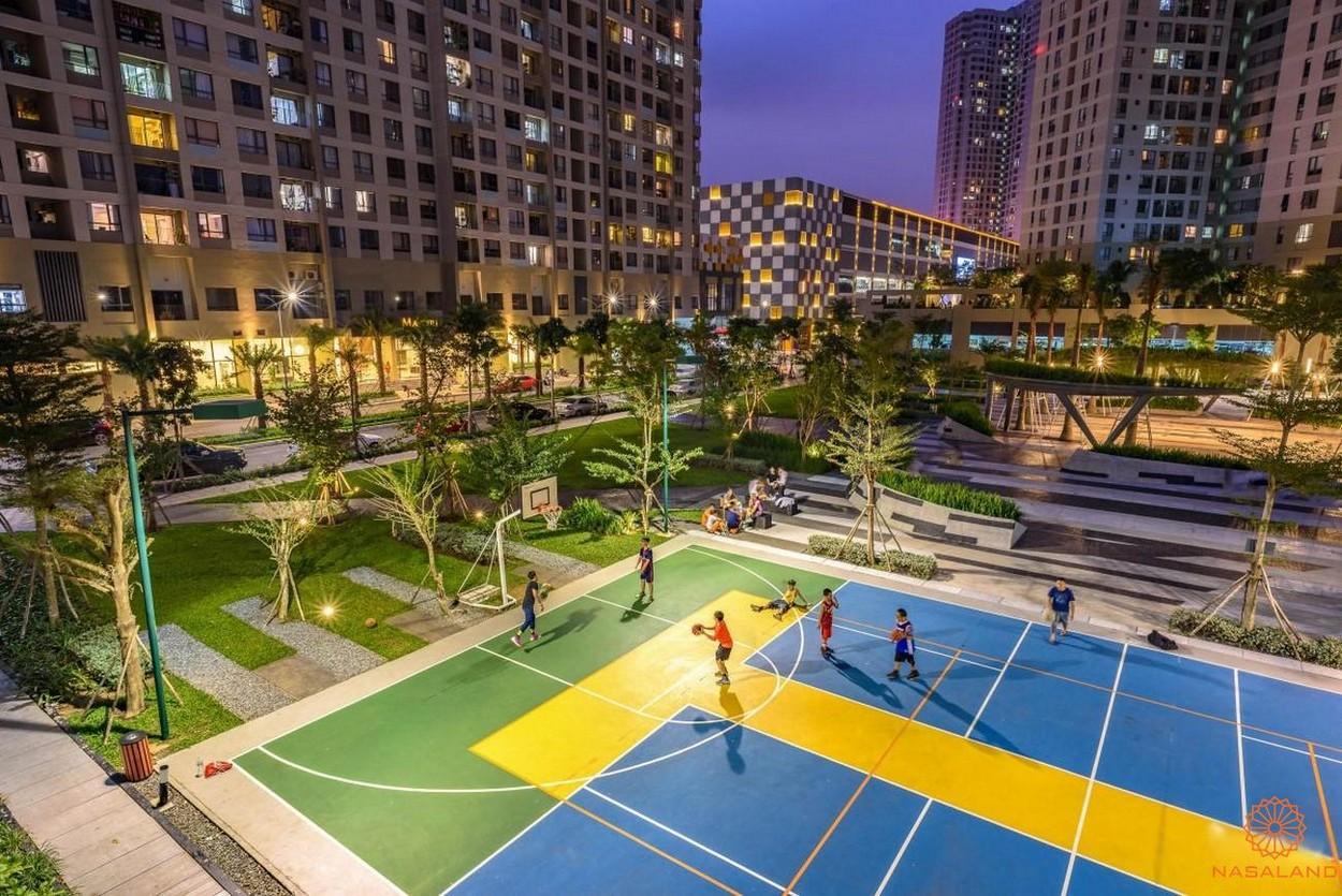 Tiện ích Masteri Lumiere Riverside - Sân bóng rổ