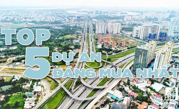5 dự án đáng mua nhất khu đông năm 2018