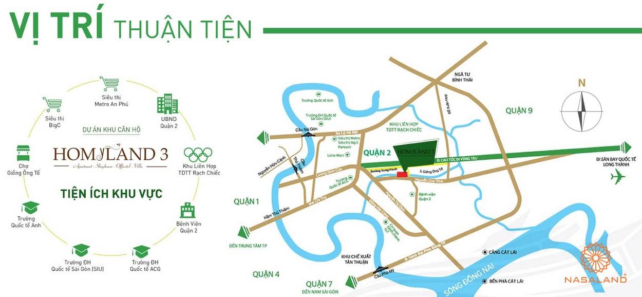 Homyland Riverside – sức hút từ vị trí vàng khu đông Sài Gòn Vi-tri-du-an-homyland-riverside-quan-2
