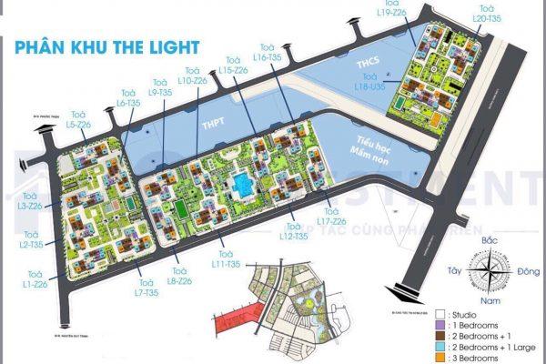 PHÂN KHU THE LIGHT 600x400 - The Light Vincity Quận 9 – Phân Khu Của Những Ánh Hào Quang