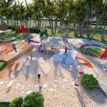 khu vui chơi trẻ em dự án seamall bình châu