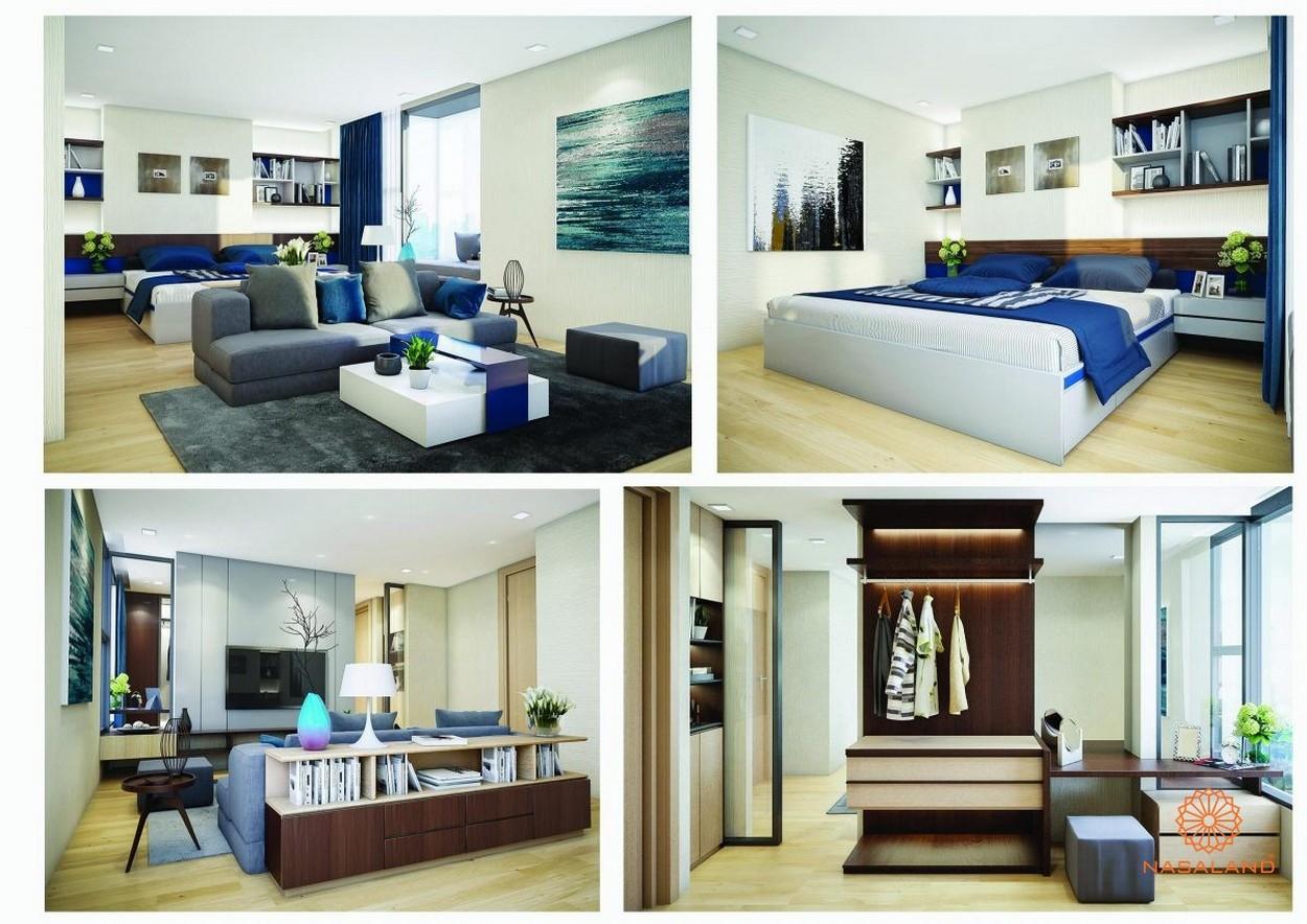 Nhà mẫu căn hộ không lửng 83m2 tại dự án căn hộ La Astoria Quận 2