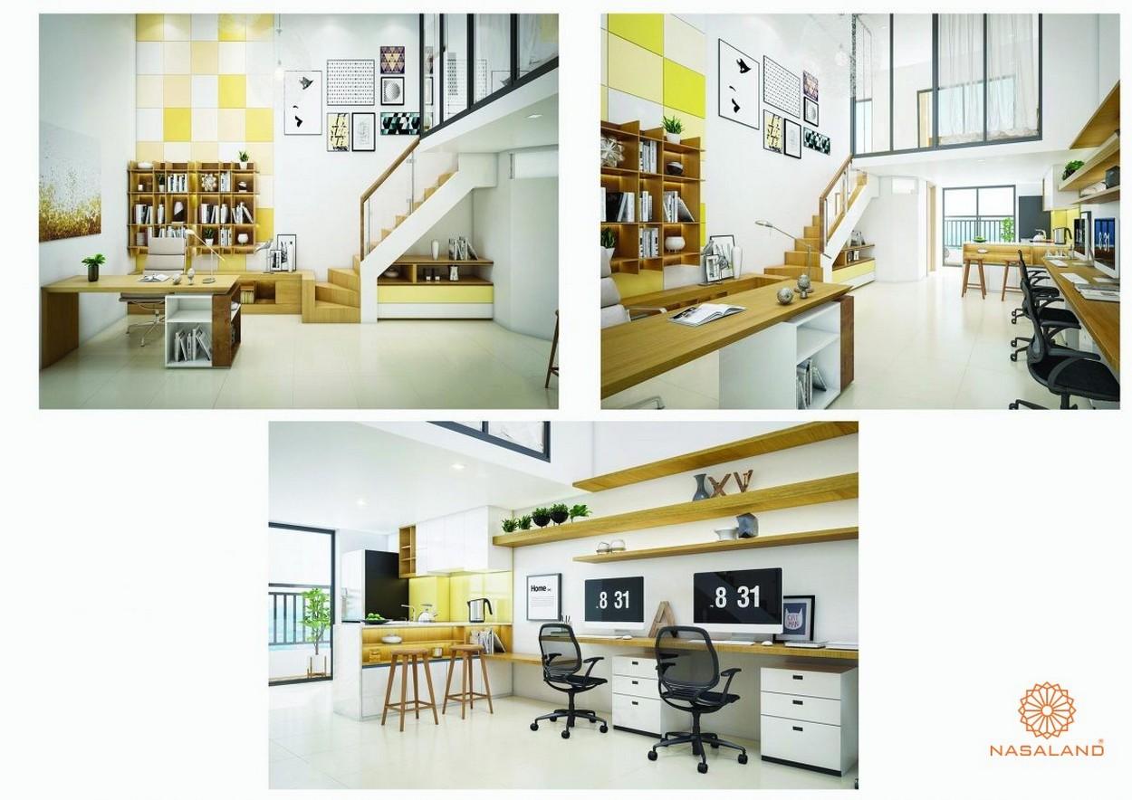Nhà mẫu căn hộ Officetel 45m2 tại dự án căn hộ La Astoria Quận 2