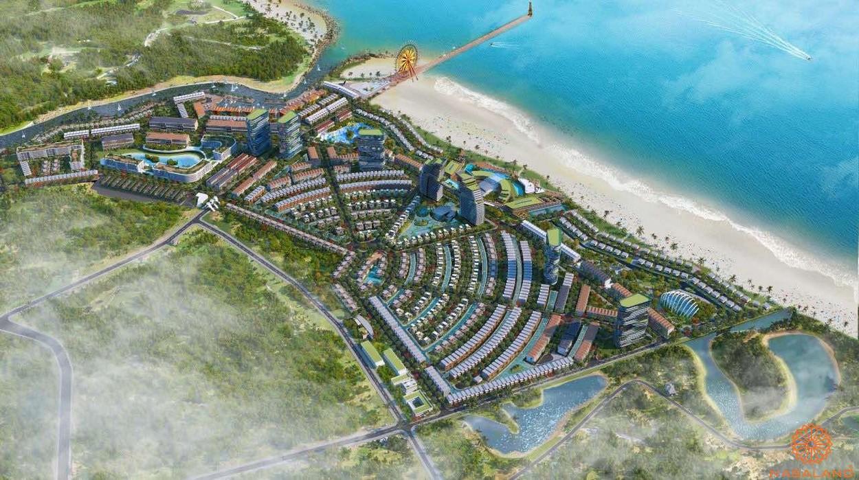 Phối cảnh KDL Lạc Việt Bình Thuận (Venezia Beach)