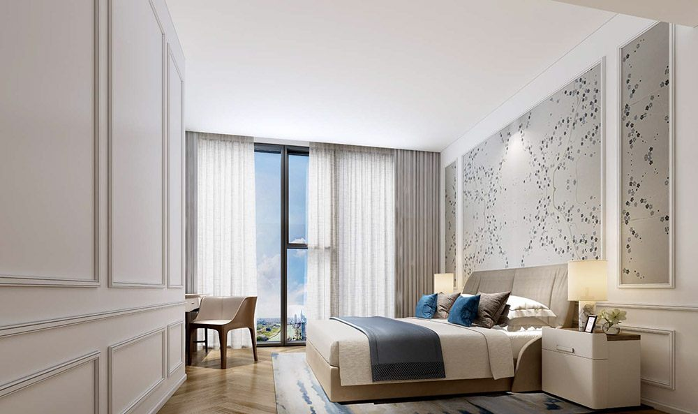 Nhà mẫu dự án căn hộ cao cấp Centennial
