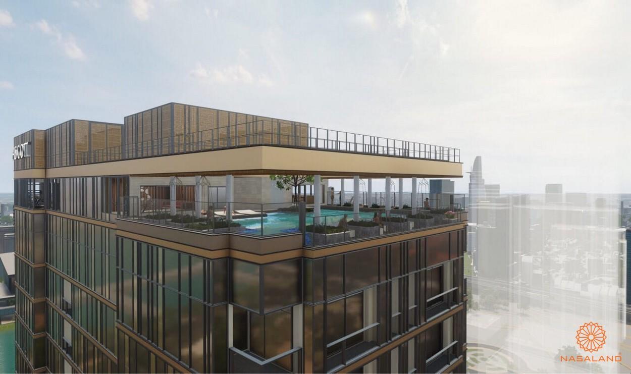 Thiết kế hồ bơi căn hộ centennial Ba son