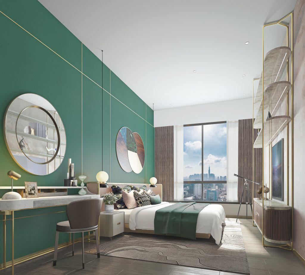 thiết kế căn hộ the marq