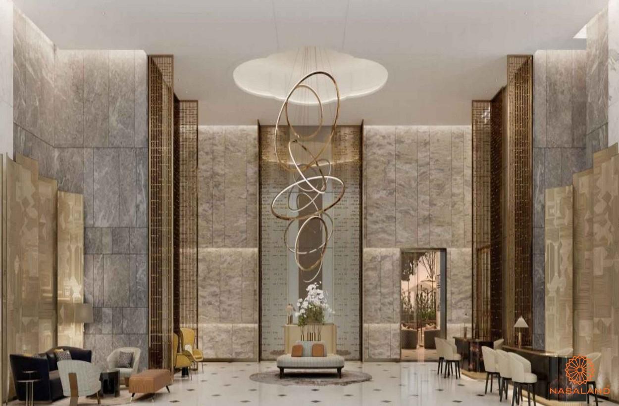 Thiết kế căn hộ Centennial Ba son - tiền sảnh