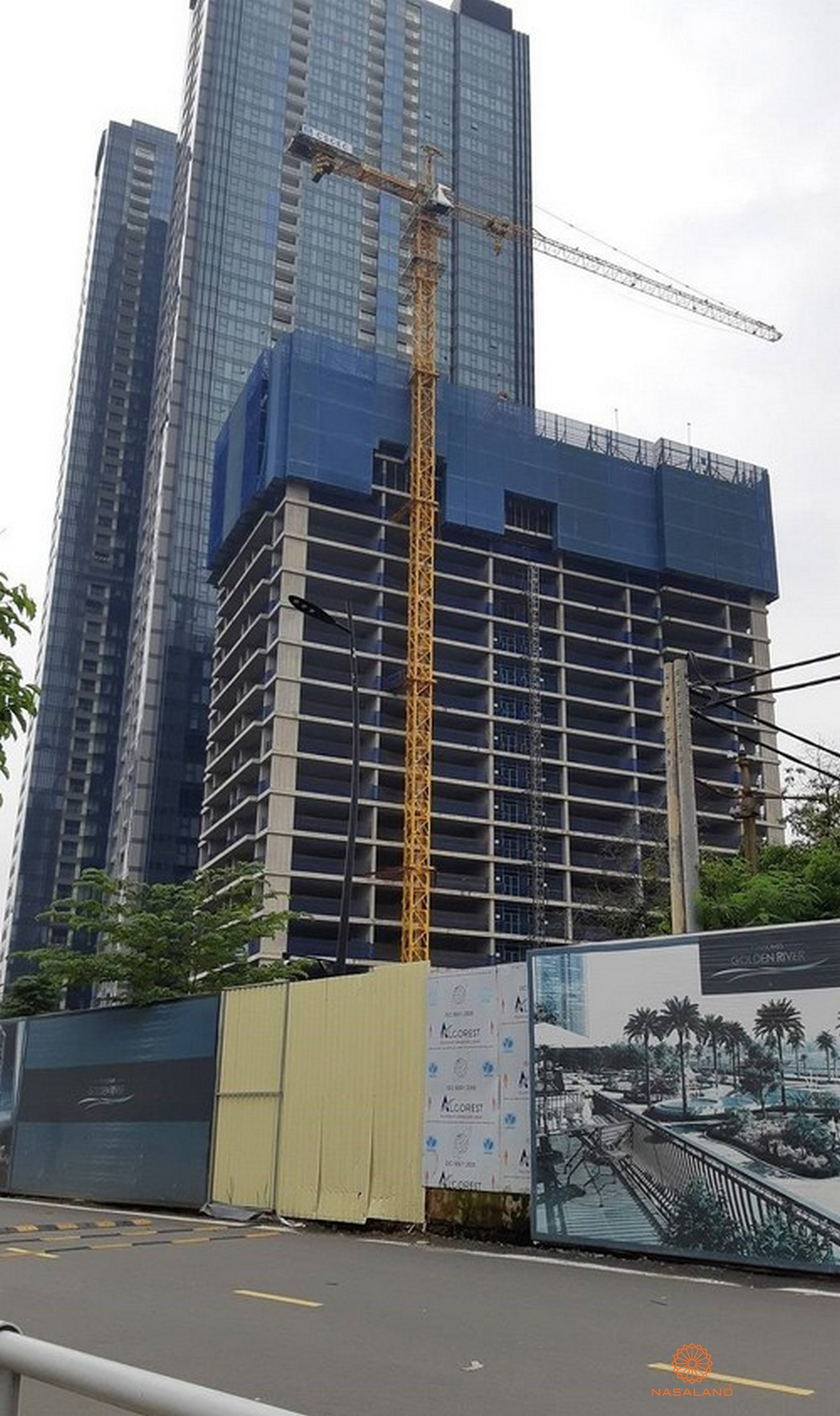 Tiến độ dự án căn hộ cao cấp Centennial