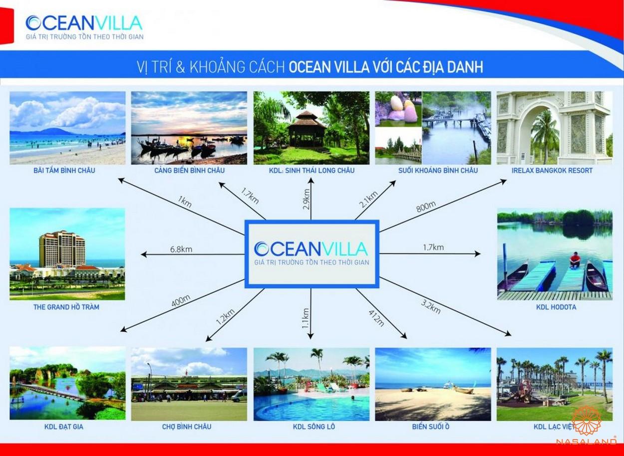 Ocean Villa Bình Châu - tiện ích Đất nền biệt thự Bình Châu