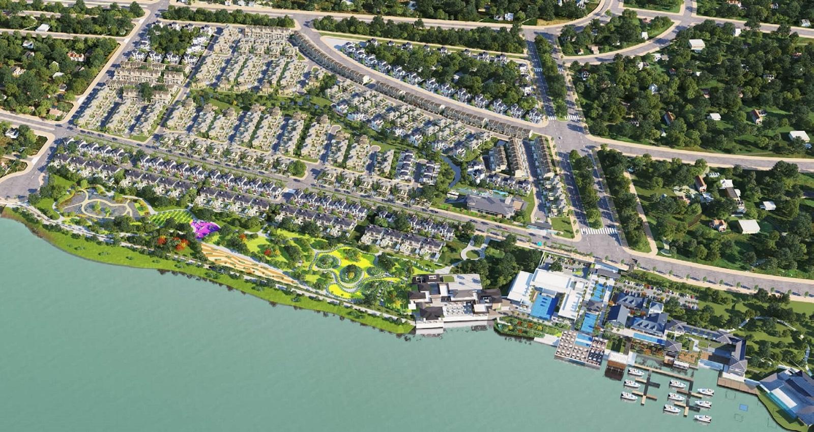 Swan Bay Đại Phước - Dự án Biệt thự nghĩ dưỡng hàng đầu