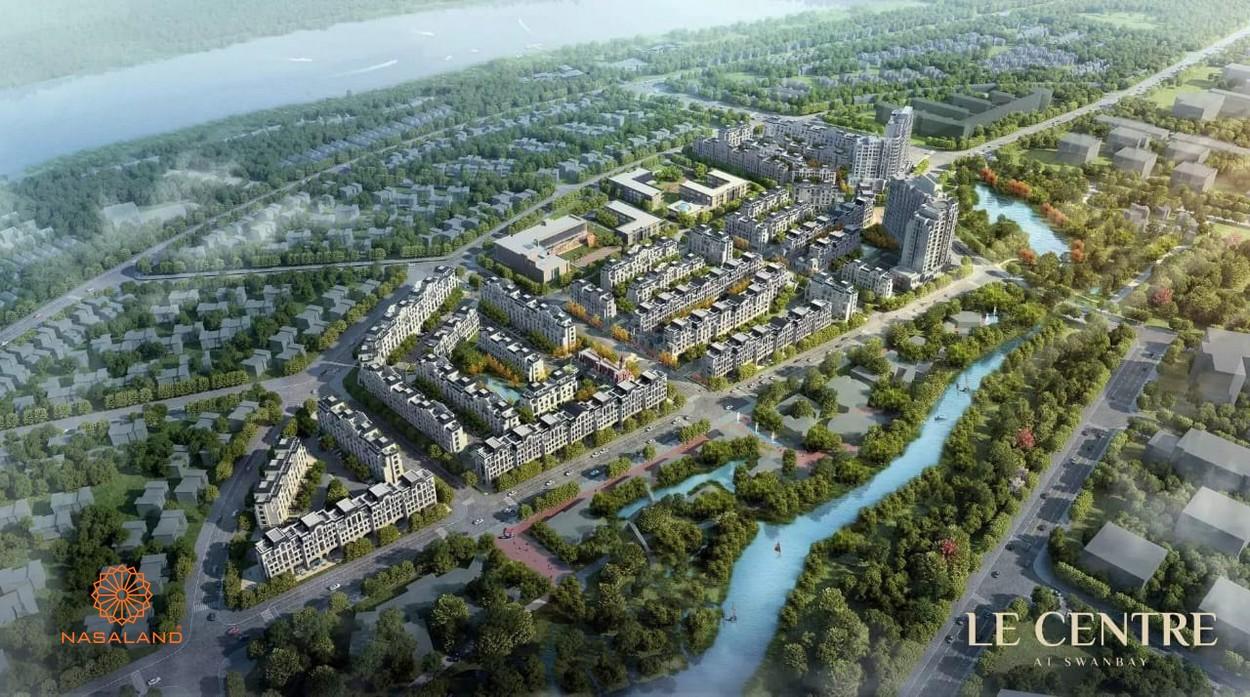 Mặt bằng tổng thể dự án Swan Bay Đại Phước