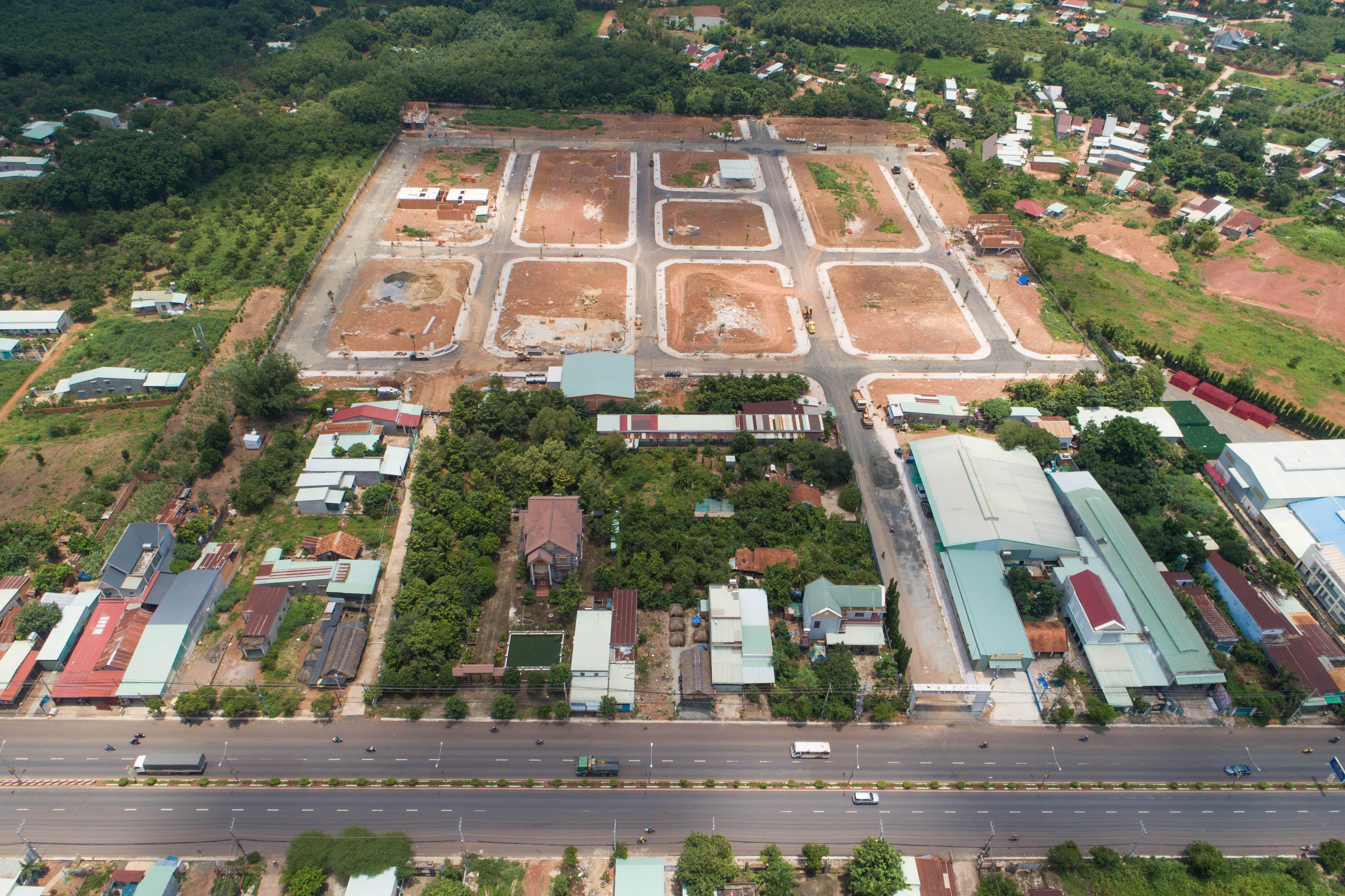 Mặt bằng dự án Tà Bế Gold City Đồng Xoài