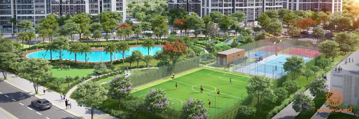 Tiện ích dự án căn hộ The Rainbow Vinhomes Grand Park quận 9 đường Nguyễn Xiển chủ đầu tư Vingroup
