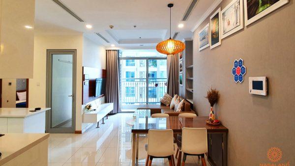Cần cho thuê gấp căn hộ 2PN full nội thất L6-08.12A liền kế Landmark 81 view nhìn hồ bơi vs L81