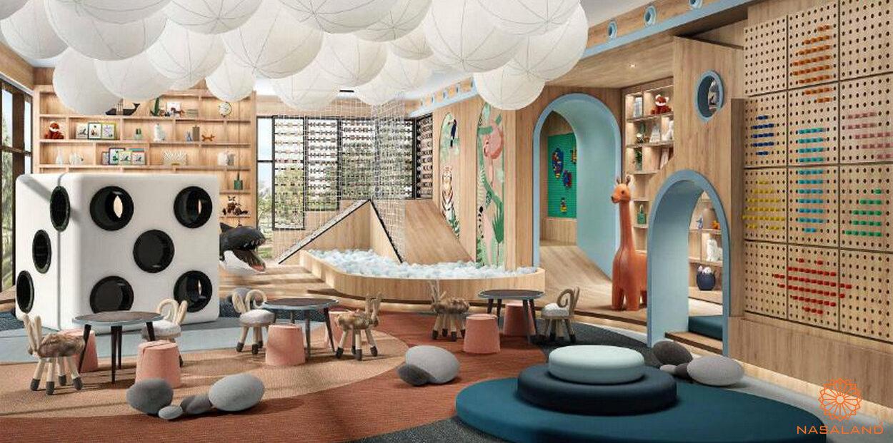 Khu vui chơi trẻ em dự án căn hộ Masterise Grand Park