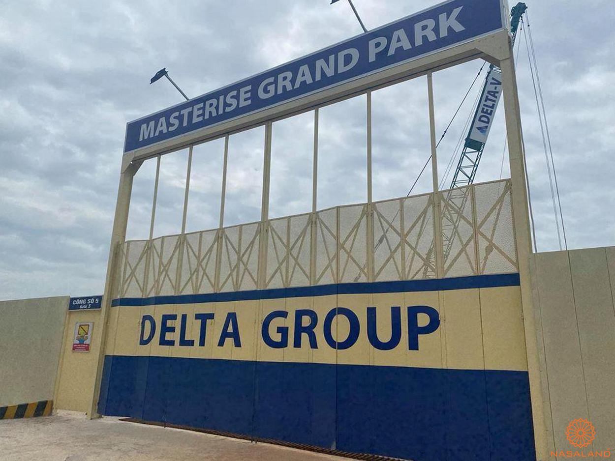 Cập nhật tiến độ dự án Masterise Grand Park