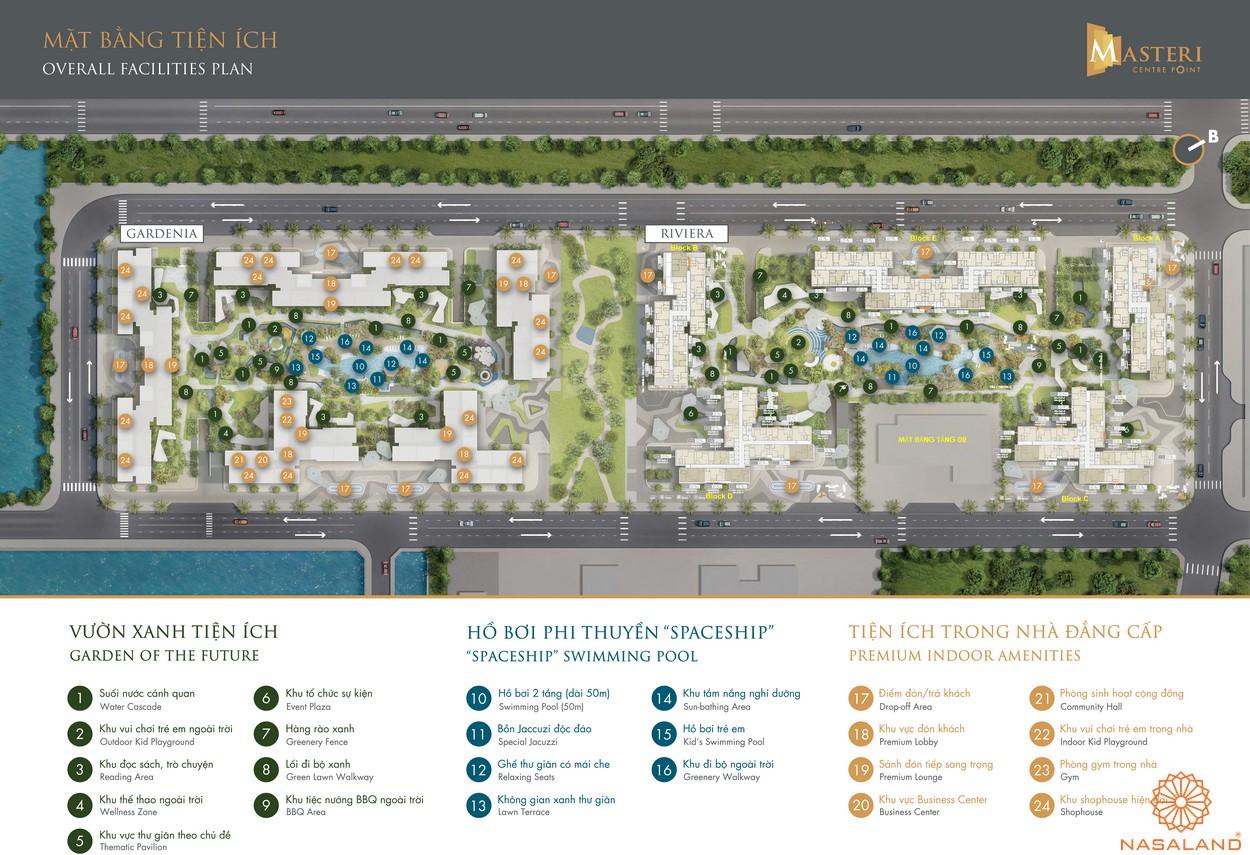 Mặt bằng tầng 2 dự án căn hộ Masterise Grand Park