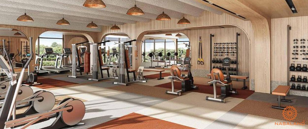 Phòng Gym dự án căn hộ Masterise Grand Park